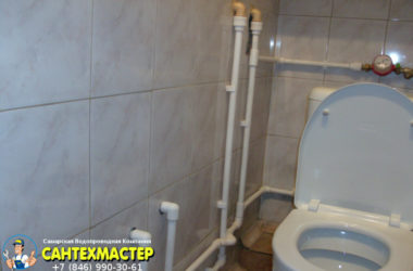 Замена водопровода