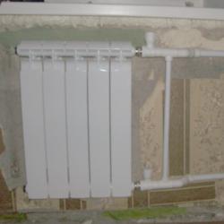 Сантехнические работы — замена батарей отопления в Самаре